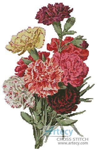 http://www.artecy.com/carnations2-cross-stitch.html