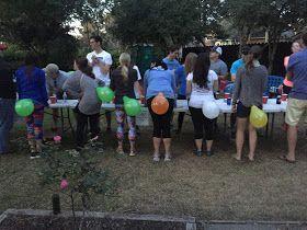 Beer Olympics Balloon Pop Flip Cup Backyard PartiesBackyard