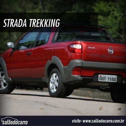 Impressões da Fiat Strada Trekking CD 1.6  » www.salaodocarro.com.br/testes/fiat-strada-trekking-cd-16.html