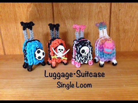 Rainbow Loom Luggage Suitcase Bagage - SINGLE Loom