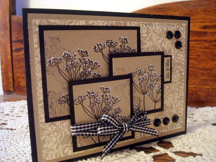 love the layers: Layered Cards, Nice Layout, Cards Ideas, Favorite Stamps, Black And White, Stampin Up, Summer Silhouette, Paper Crafts, White Ink