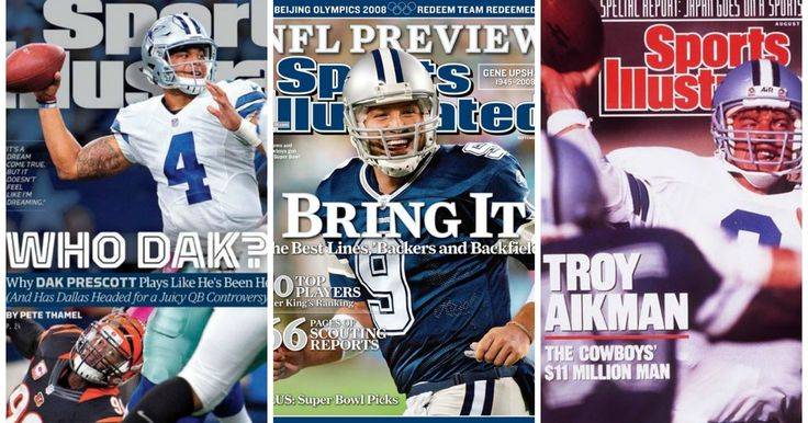 Who Dak? Prescott becomes 7th Cowboys QB on Sports Illustrated cover- here's a look at them all