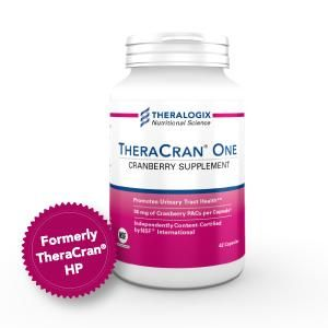 TheraCran One Cranberry Supplements   NSF Certified Cranberry Extract Capsules