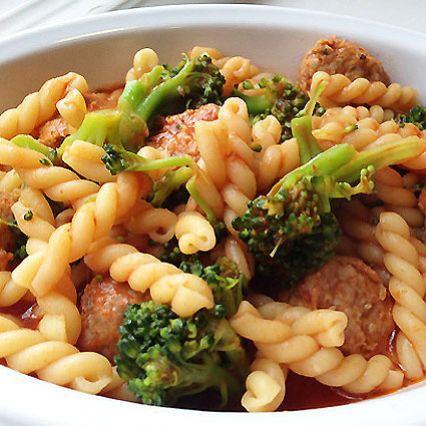 Recipe | Gemelli Pasta with Italian Sausage and Broccoli
