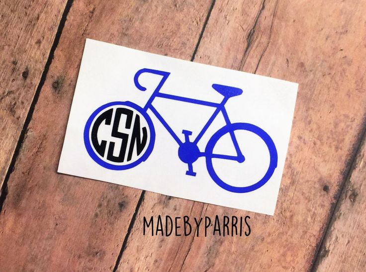 Best MadeByParris Images On Pinterest - Cycling custom vinyl decals for car