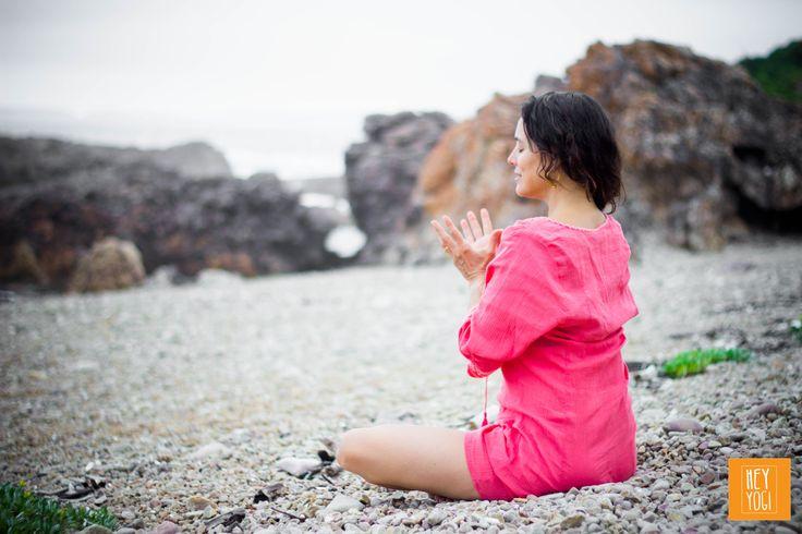 Lotus Mudra Meditation with Rachel Zinman.  Yoga photography by Nora Wendel from HEY YOGI.  Plettenberg Bay, South Africa, 2015