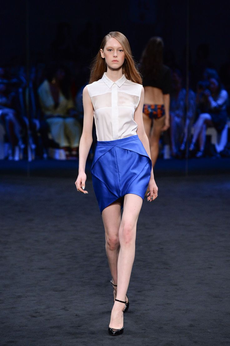 SUBOO. Crossfader shirt & Origami skirt