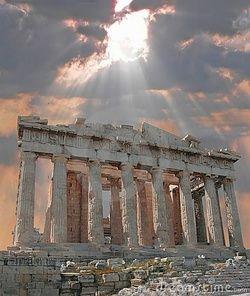 : Parthenon Athenas, Greece