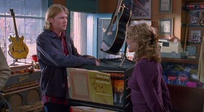 "At The Music Store: Gilmore Girls: Season 6 - Episode 10; ""He's Slippin' 'Em Bread... Dig?"""
