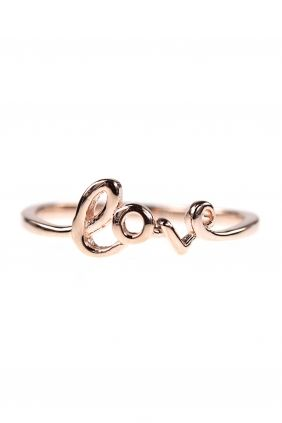 this delicate rose gold plated band adds some #love to your #stacking #ring collection I NEWONE-SHOP.COM