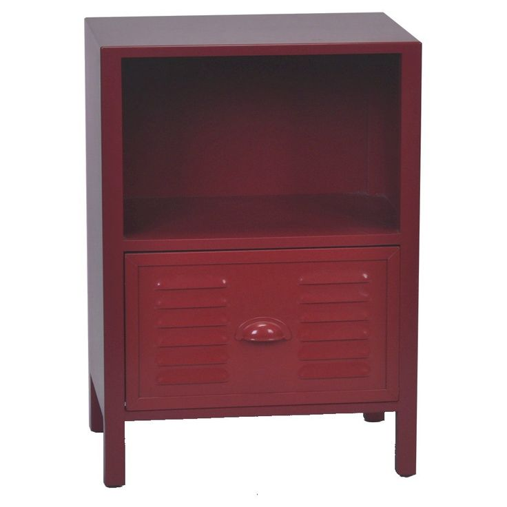 Kids Accent Table Locker Red Target 79 99 Boys