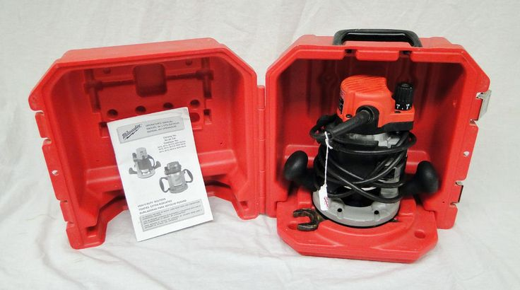 Milwaukee 5615-29 Heavy Duty 1-3/4HP Router Kit Corded Body-Grip Case Power Tool #Milwaukee #router #HD  0407