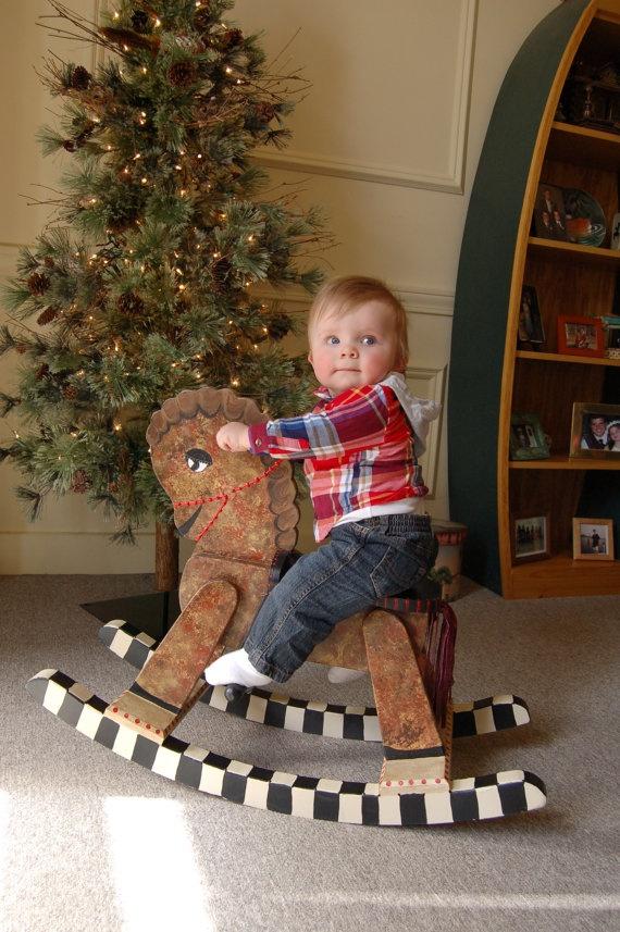 Wood Toy Chest Children