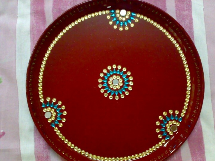 1000 images about pooja thali on pinterest festivals for Aarti decoration pictures