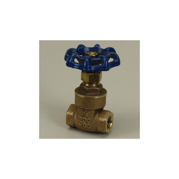 """ProFlo PFT300L 2-1/2"""" Non Rising Stem Gate Valve - Not for Potable Water Use Valves Gate Valves Brass"""