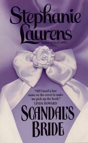 Scandal's Bride by Stephanie Laurens +++ (Book 3 of the Cynster Series)