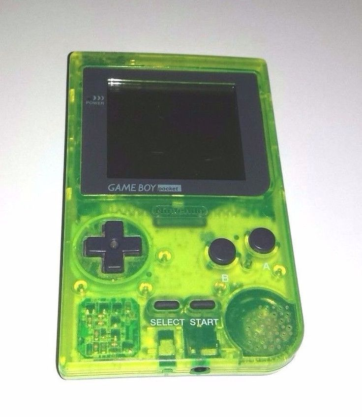 Original Gameboy Pocket Console Game EXTREME GREEN Rare Special Edition #Nintendo