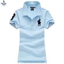 2015 Lato Marka Big Jazda Cotton polo Krótki rękaw koszule Solidna Polo Ralph Shirt CAMISA Masculina Damskie Koszulki Polo Koszule (Chiny (kontynentalne))