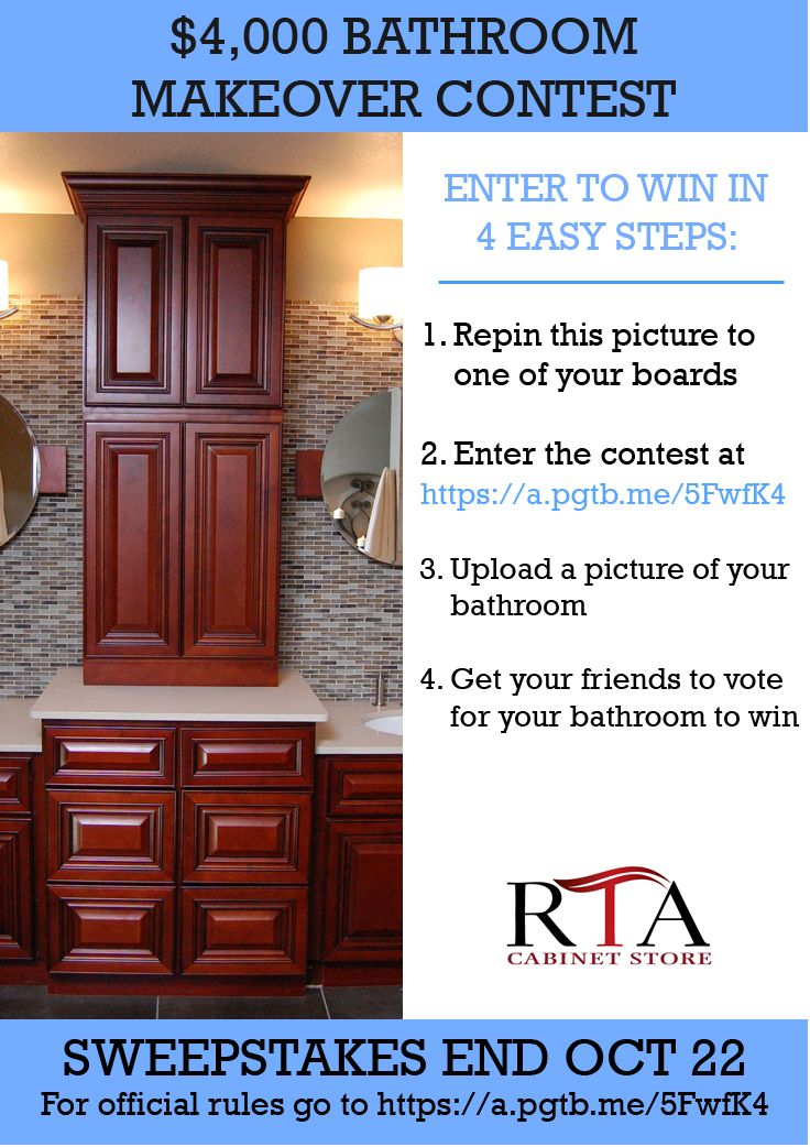 Bathroom Makeover Sweepstakes bathroom makeover contest enter to win up a 4000 ends intended ideas