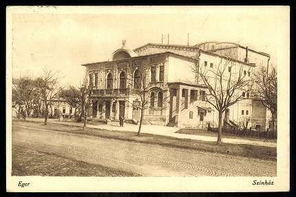 1928. Eger, Színház | Képcsarnok | Hungaricana