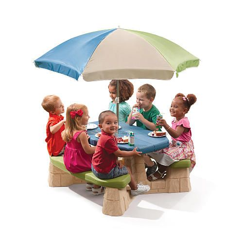 25 best Picnic table with umbrella ideas on Pinterest