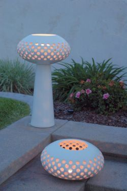 """Architectural Pottery is reproducing one of Raul's ceramic lantern designs, The """"RL Lantern"""""""