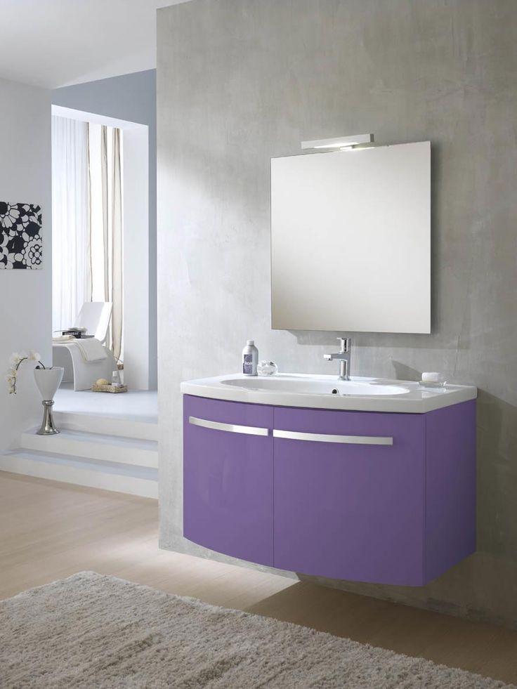 1000 images about mobili bagno moderni on pinterest - Mobile bagno lilla ...
