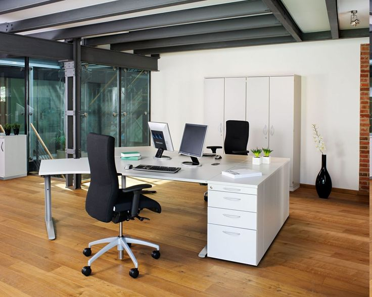 In applying this design, you certainly need contemporary home office  furniture as supporting your activities
