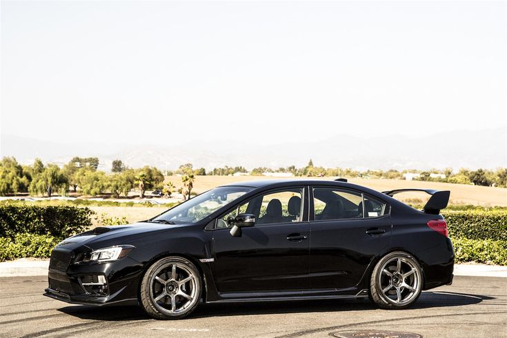 Black 2015 Subaru STi For Sale by WTB Auto in Lake Forest CA . Click to view more photos and mod info.