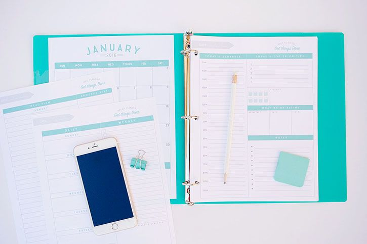 Free Organizational Printables to Streamline Your To-Do Lists, Your Schedule…
