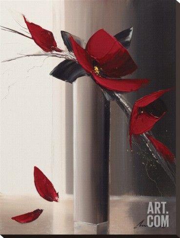 Art.fr - Tableau sur toile 'Bouquet Rouge I' par Olivier Tramoni