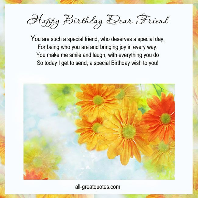 How To Make Your Best Friend Happy Quotes: 1000+ Ideas About Friend Birthday Message On Pinterest