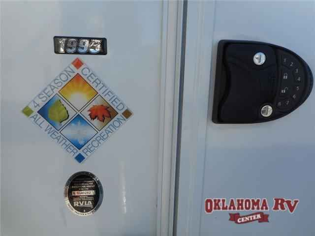 2016 New Lance Lance Travel Trailers 1995 Travel Trailer in Oklahoma OK.Recreational Vehicle, rv, 2016 Lance Lance Travel Trailers 1995, Step inside this Lance travel trailer model 1995. With this unit you will have your own private oasis in any location you choose. As you enter notice the storage cabinets to the left of the door. Further in you will find a rear corner bath that features an angled shower, toilet, and sink. A large u-shaped dinette slide will seat everyone comfortably…