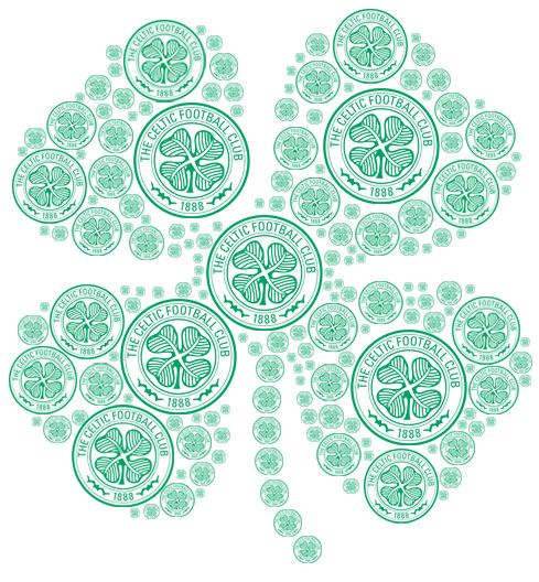 Celtic FC Clover #stpatricksday #celticfootballclub