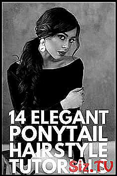 14 Ponytail Hairstyles   If you   re looking for e #Bangs #Braided #classpintag #collection #couple