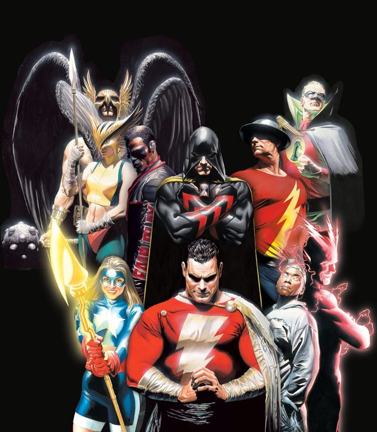Justice Society by Alex Ross