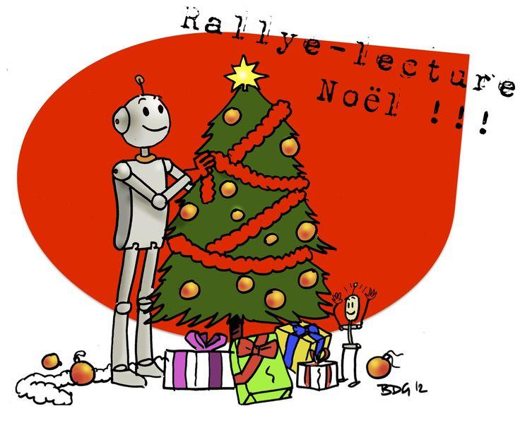 Rallye-lecture - Noël ( CE1 - CE2) - Bout de gomme