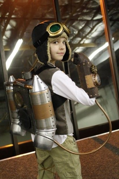 Cut steampunk boy
