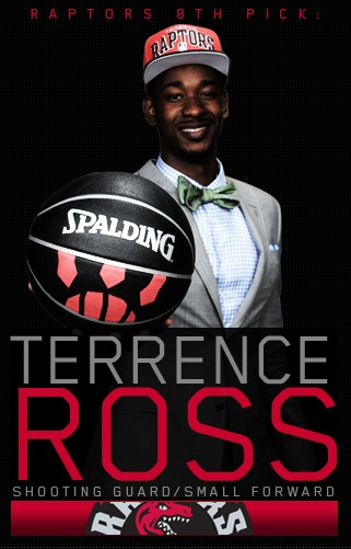 Welcome Terrence Ross.
