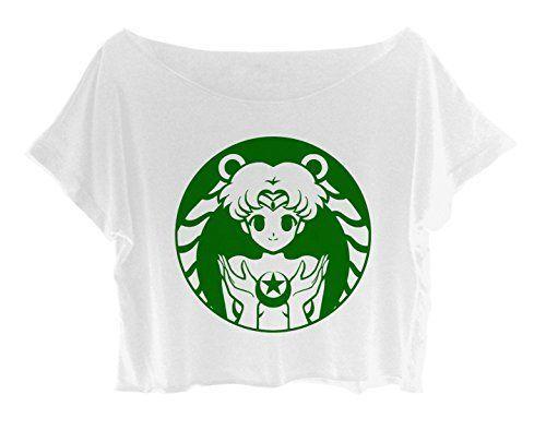 Crop Top Senshi Sailor Moon Shirt Anime Movie Tee