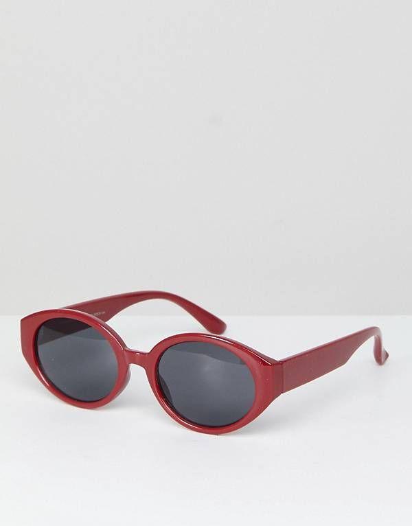 54ccfe730d68e Stradivarius Oval Sunglasses