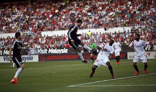 Sevilla vs Real Madrid La Liga Spain