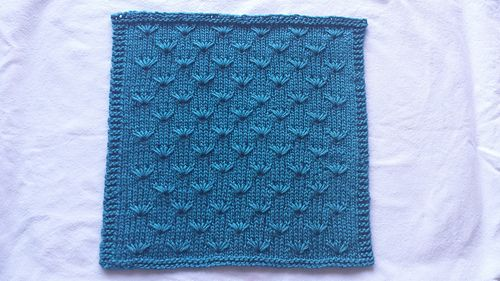 Technique: Lifted stitches http://www.ravelry.com/patterns/library/dandelion-linen-washcloth
