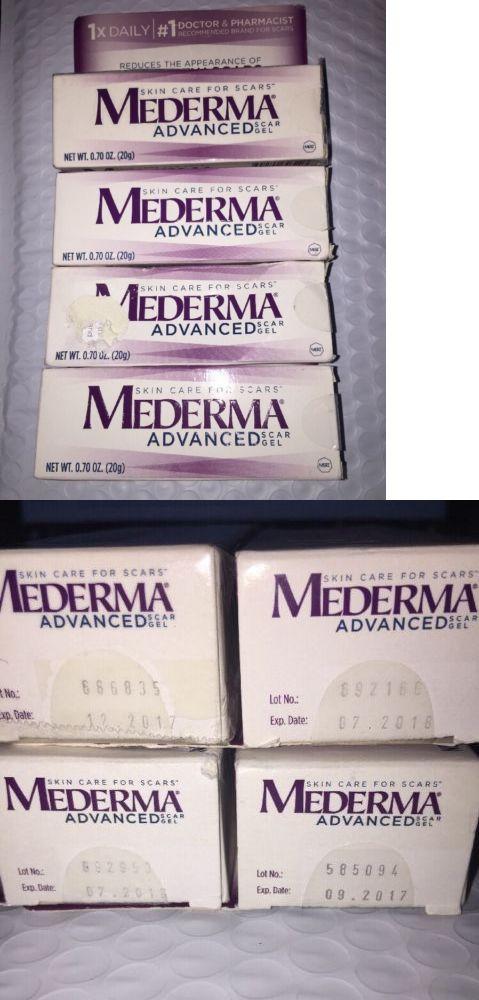 Scar and Stretch Mark Reducers: Lot Of 4 Mederma Advanced Scar Gel Sealed New 0.70 Oz (20G) Fresh 02 2018+ -> BUY IT NOW ONLY: $32.99 on eBay!