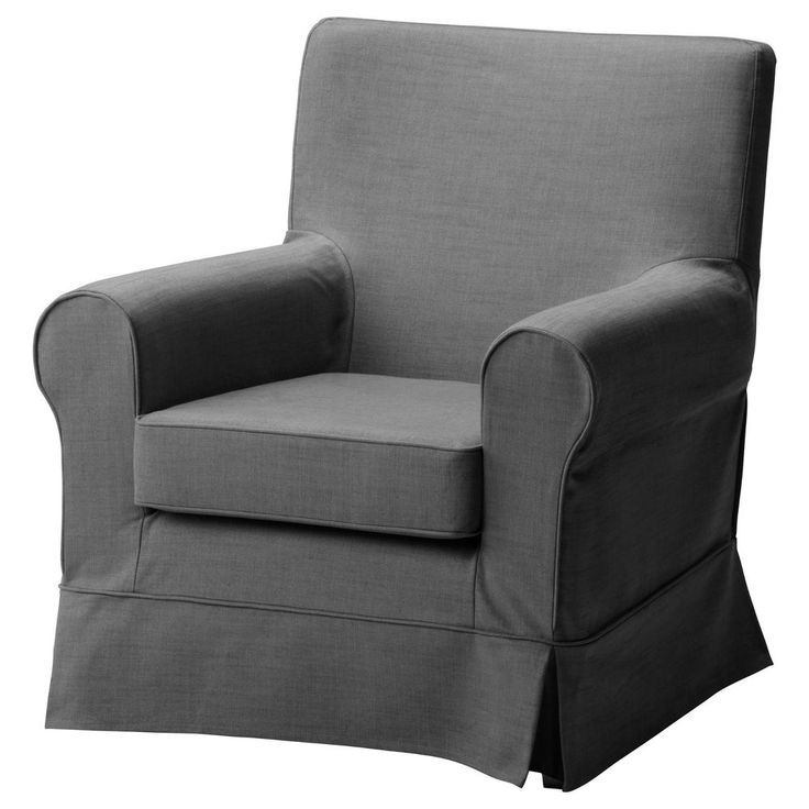 Ektorp Jennylund Chair Cover Armchair Slipcover Svanby Gray Grey Linen Blend By IKEA New