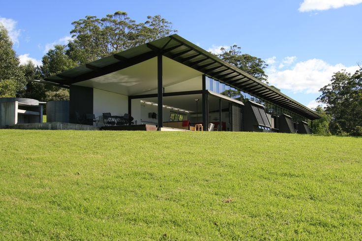 Glen Murcutt designed Walsh House, Kangaroo Valley