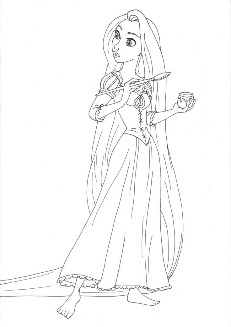 Guarda tutti i disegni da colorare di rapunzel www for Disegni miraculous da colorare
