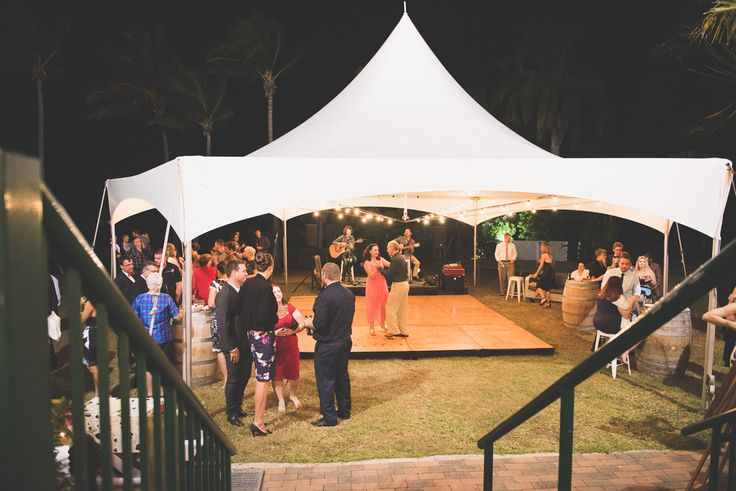 Mercure Townsville - Outdoor Wedding - Lakeside Lawn - Marquee - Tropical - Outdoor - Wedding - Dancing - Townsville