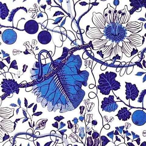 Josef Frank fabric #joseffrank @svenskttenn #archdigest #cheerful