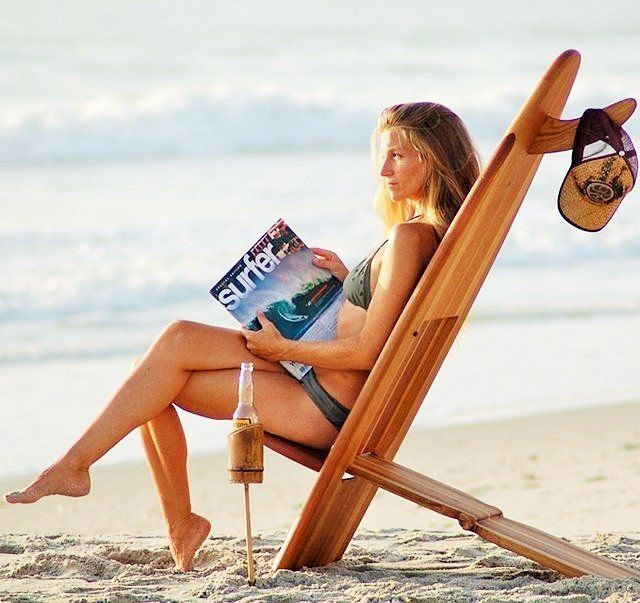 Fancy | Bombwatcher Surfboard Chairs by Surf Life Designs